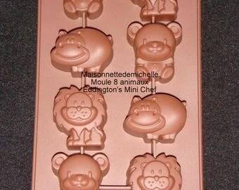 Mould 8 mini animals