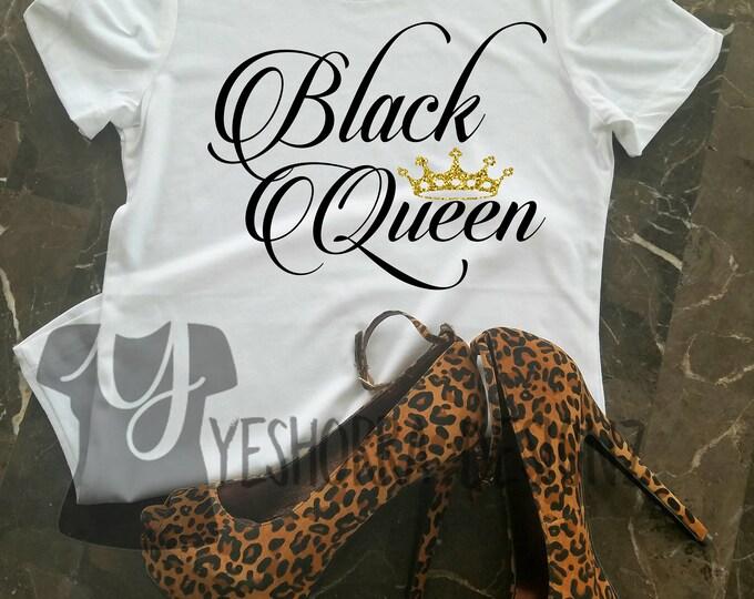 Black Queen Shirt, Black Girl Magic, My Black Is Beautiful, Black Girls Rock, Melanin Queen, Black History, African Queen