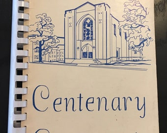 1972 Centenary Cookbook