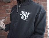 Black Zip Up Brightside Mandala Hoodie