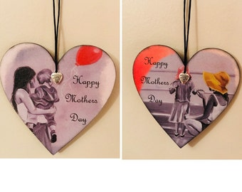 Mother's Day handmade plaque *can be pesonalised*