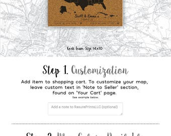 Customized Gift for Traveling Friend, Best Travel Gift for Men and Women, Cork Foam Push Pin Travel Map - 14x10 - Customized