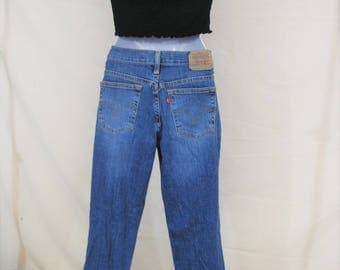 VTG Levis High Waisted Straight Leg Jeans | Size 26 / 27