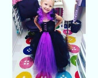Maleficent Child's Costume