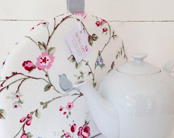 Tea Cosy, Bird Trail Tea Cosy, Pretty Tea Cosy, Floral Tea Cosy, Kitchen Accessory, Tea Time!
