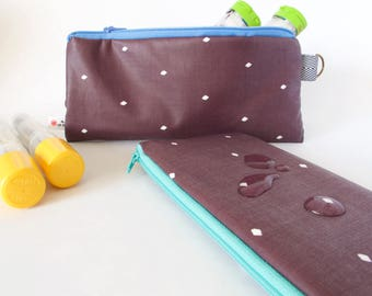 EpiPen Case.WATERPROOF INSULATED EpiPen Pouch. Epipen Bag. Insulated Medical Bag. Allergy BAG. School Epipen Carrier