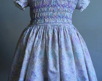 Vintage Girl's Dress, Liberty of London and Polly Flinders Dress