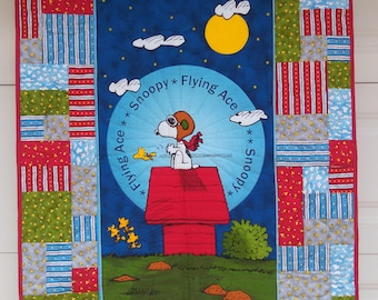 Snoopy Flying Ace Quilt