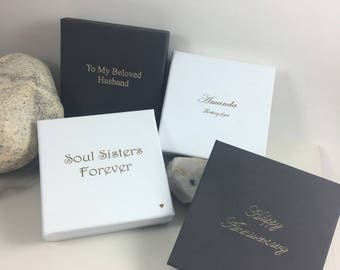 Customized Gift Boxes,Personalized Jewelry Boxes,Bracelet Gift Boxes,Custom Boxes with Lids,Gift Boxes for Bridesmaid,Personalized Gift Box