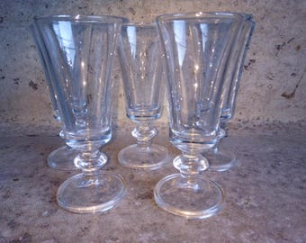 5 Vintage Glasses