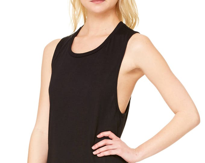 Flowy Scoop Tank - Wholesale Only - We will print your chosen design!