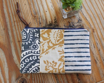 Zipper Pouch, Multi-Color, Small