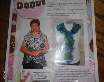 Two Chics'n Stitches Donut Pattern