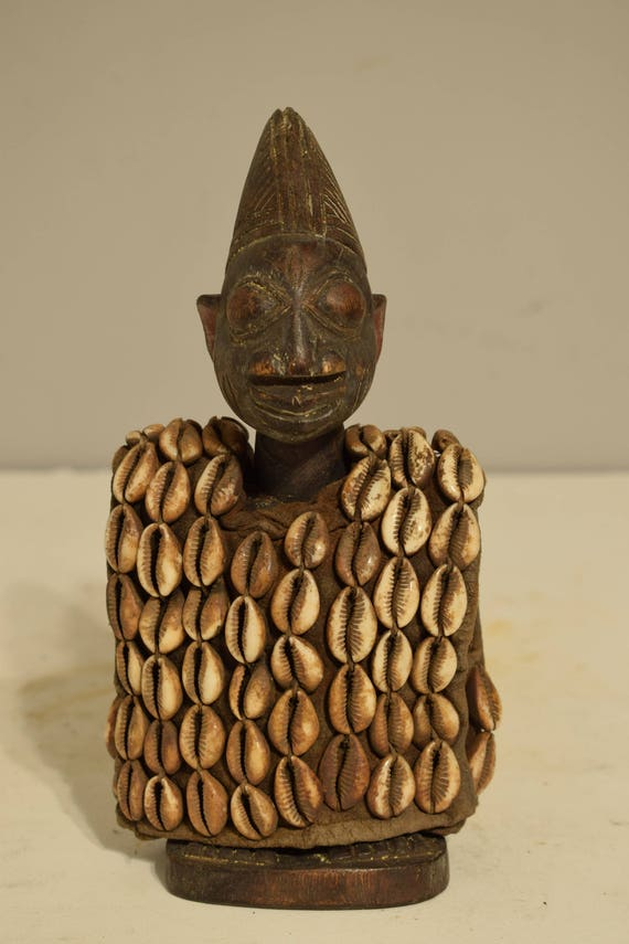 African Doll Ibeji Twin Female Figure Yoruba Nigeria Twin Replacement Ibeji Doll
