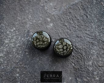"""Black painted ear plugs wooden tunnels,4,5,6,8,10,12,14,16,18,20,22,25-60mm;6g,4g,2g,0g,00g;1/4,5/16,7/16,3/8,1/2,9/16,5/8,3/4,7/8,1 1/4,1"""""""
