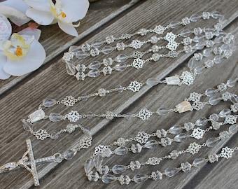 FAST SHIPPING!! Beautiful Sparkling Silver Wedding Lasso, Wedding Lasso, Wedding Unity Cord, 25th Anniversary, Wedding Gift, Lasso de boda