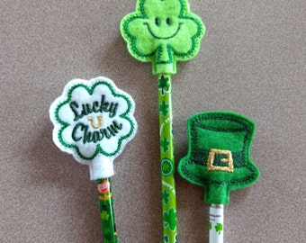 St. Patrick's Day Pencil Toppers