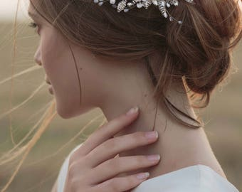 couture floral hair accessory bridal hair comb SACURA BLOSSOM COLLECTION