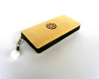 Hemp Wallet, Hmong Wallet, Women Wallet, Hippie Wallet, Boho Purse, Hmong Purse Ethnic Purse bohemian Gift Wallet