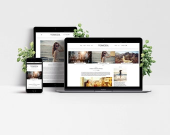Vomoda WordPress Theme - Responsive Blog & Magazine Template