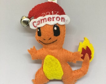 Charmander Pokemon Ornament Or Keychain