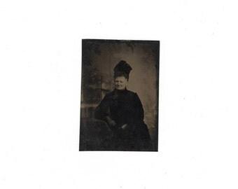 antique mourning tintype