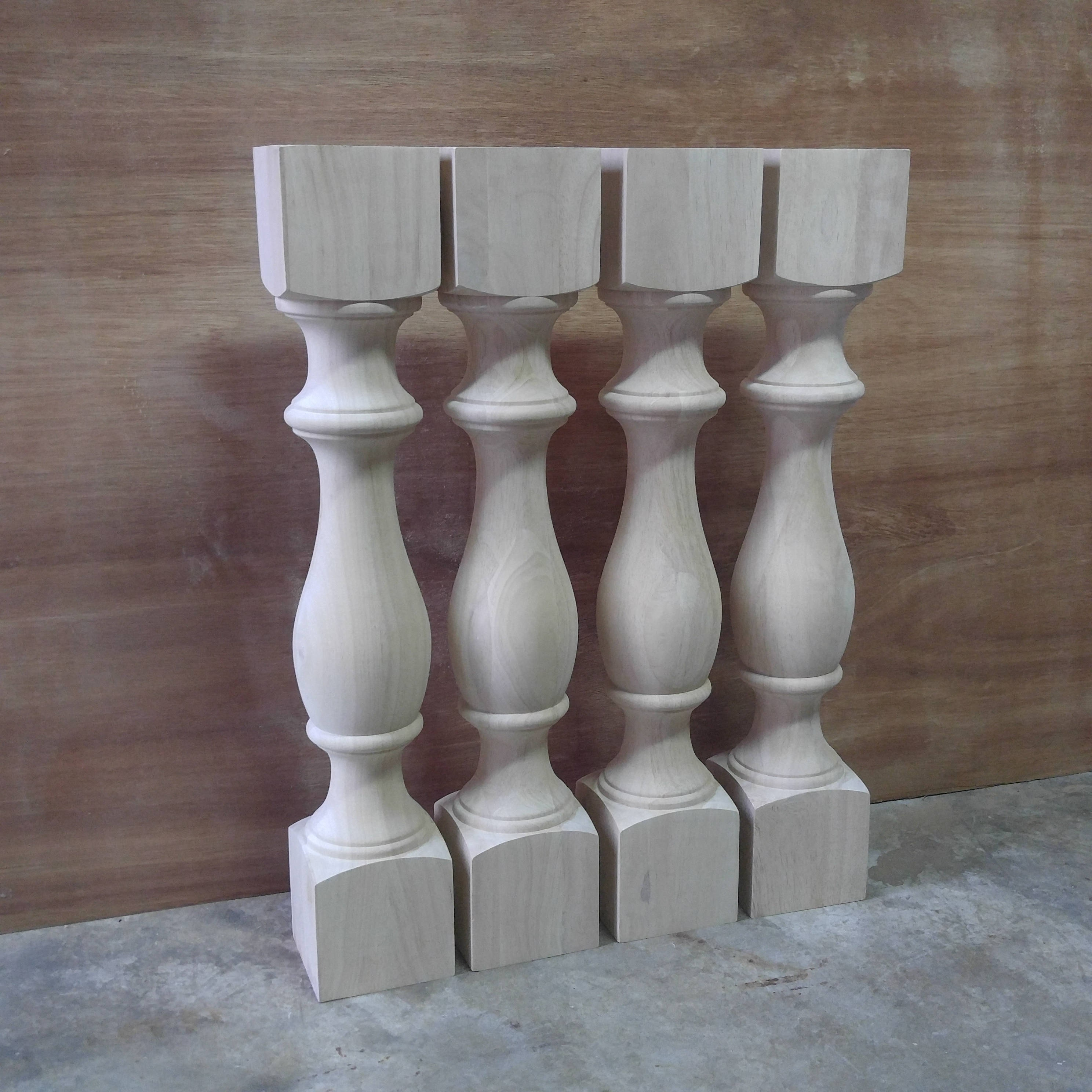 Unfinished Monastery Dining Table Legs Console Table Legs
