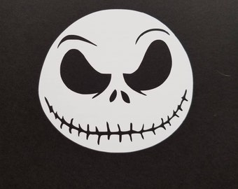 Jack Skellington Nightmare Before Christmas TNBC Vinyl Decal Sticker Free Shipping