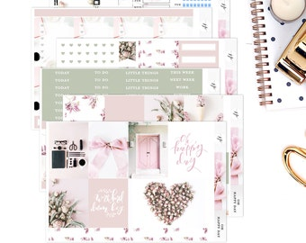 Oh Happy Day  || Weekly Planner Sticker Kit|| for Erin Condren Vertical Layout
