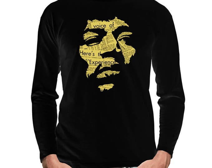 Jimi Hendrix Long Sleeve T-Shirt