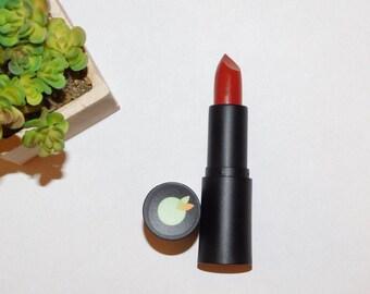 Original Red Lipstick | The Tart Peach | Handmade | Deep Red Orange Lipstick | Longlasting