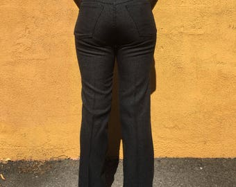 Vintage Wrangler Straight Fit Polyester 1970s Jeans