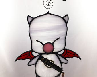Stained Glass Moogle - Final Fantasy