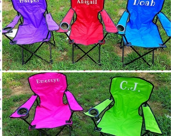 Kids Camping Chair, Kids Canvas Outdoor Chair, Kids Beach Chair, Kids  Outdoor Chair