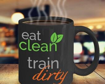 Personal Trainer Coffee Mug - Fitness Coach Mug - Gift for Exercise Fanatic - CrossFit Coffee Mug - Weightlifting Coffee Mug - Gift CrossFit