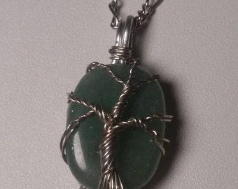 Tree of Life Aventurine Necklace