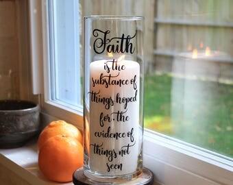 Faith Gifts, Faith Gifts for Women, Faith, Hebrews, Hebrews 11, Hebrews 11 1, Christian Gifts for Women, Religious Gifts for Women, Gift