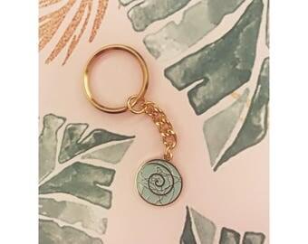 Kintsukuroi Key chain - GOLD