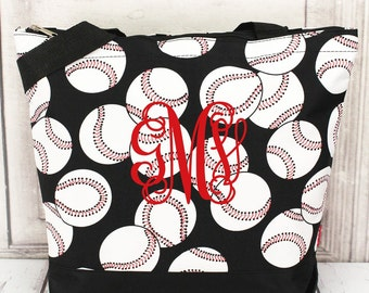 Baseball Carry All Tote