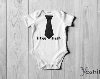 Boss Baby Onesie /Bodysuit Or T-Shirt