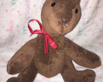Chocolate Bear Plushie (Home Made!)