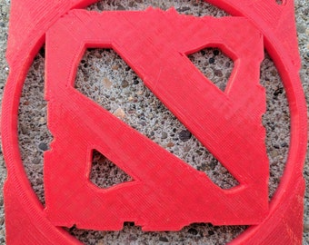 3D Printed DotA 2 120mm Computer Fan Grill