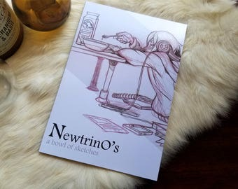 Newtrino's Sketchbook 2011-2013