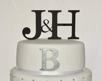 Personalised ANY Initials Card Cake Topper