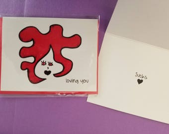 Black Heart Cards by pj expresses your black heart truth when your tender red heart cannot speak.