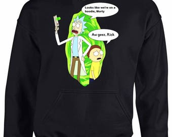 Rick and Morty Hoodie Perfect Gift. Very comfortable.