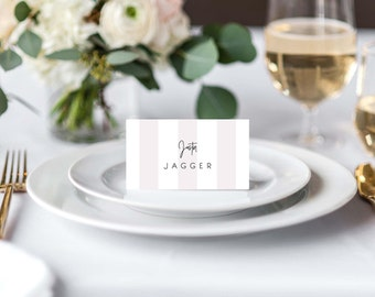 romantic wedding place cards rustic place cards printable place cards instant download