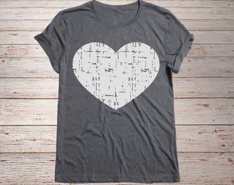 Heart svg, Valentine svg, Valentine's Day svg, Grunge svg, SVG Dxf EPS Png Jpg Vector Art, Clipart, Cut Print File Cricut & Silhouette Decal