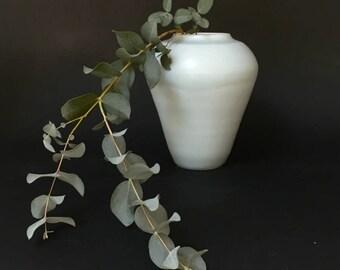 Autumn, Lunar celadon vase