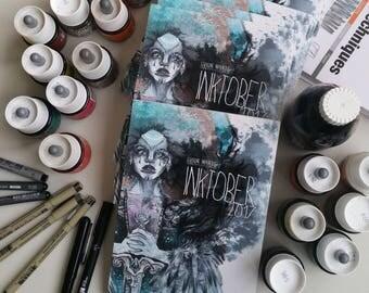 Inktober 2017 - art book
